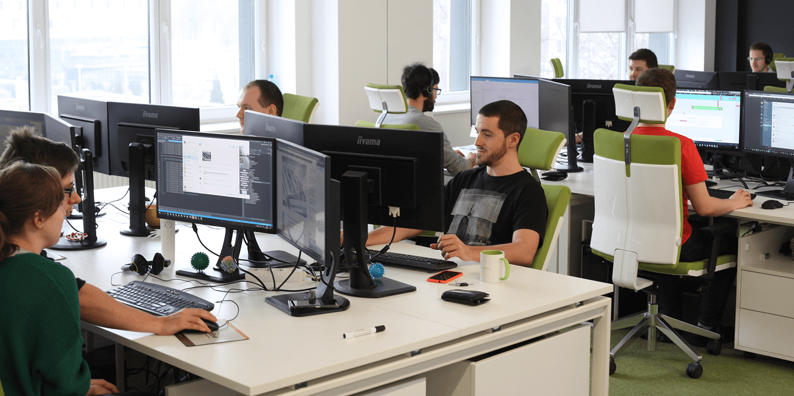confirmed by the Cushman & Wakefield forecasts from the turn of the year which predict a growth of the services outsourcing sector at a rate of 6 percent per annum over the next six years. IT outsourcing across the Baltic Sea